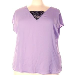 TORRID SIZE 5 NEW WITHOUT TAGS PURPLE TOP